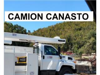 CAMION CANASTO 2005 55´ LEVANTA, Equipo Construccion Puerto Rico