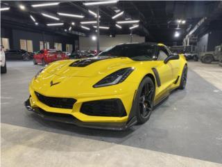 Corvette ZR1 2019, Chevrolet Puerto Rico