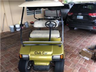 Club Car gasolina, Carritos de Golf Puerto Rico