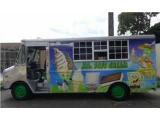 Guagua de helados soft cream en aluminio, Chevrolet Puerto Rico