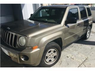 Jeep Patriot 2007, Como Nueva!, Negociable. , Jeep Puerto Rico