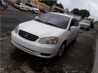 Corolla 2006, Toyota Puerto Rico