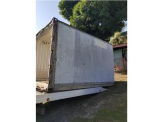 Vagón 13' aluminio insulado piso aluminio , Otros Puerto Rico