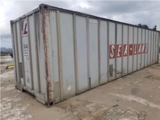 Vagón 35' aluminio , Equipo Construccion Puerto Rico