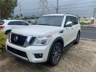 Nissan Armada 2017 Blanco Perla 8mil millas, Nissan Puerto Rico