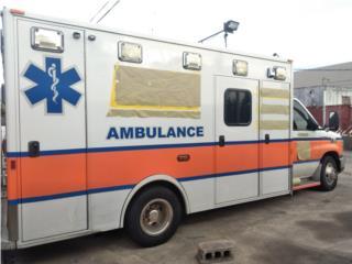 Se Venden 2 Ambulancias Diesel 6.0/Lt, Ford Puerto Rico