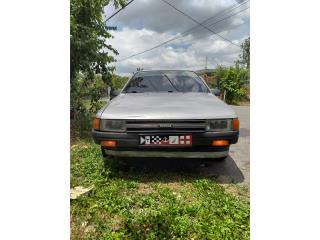 Toyota tercel 88, no a mi nombre licencia nueva, Toyota Puerto Rico