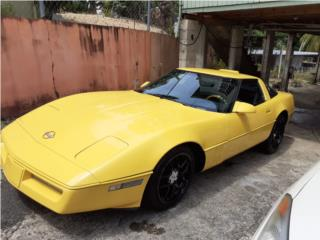 Corvette del 85 automática 5,900, Chevrolet Puerto Rico