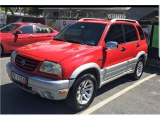 Gran vitara rojo sangre bella 2004, Suzuki Puerto Rico