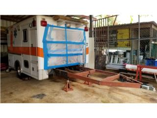 Caja de Ambulancia en Aluminio con pega 2, Trailers - Otros Puerto Rico