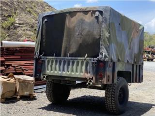 Carretón (trailer) en aluminio de 11 pies, Equipo Construccion Puerto Rico