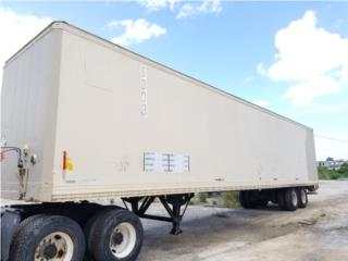 Vagón 48' aluminio, Equipo Construccion Puerto Rico