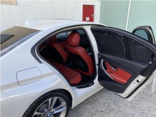Bmw 328i blanco con Rojo, BMW Puerto Rico