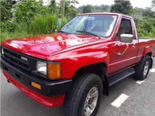 Toyota Pickup 86 Std $10,500 poco millaje, Toyota Puerto Rico