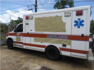 Ambulancia Tipo III MODULAR Turbo Diesel, Ford Puerto Rico