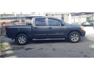 Nissan titán 2011/con solo 55mil millas 4ptas, Nissan Puerto Rico