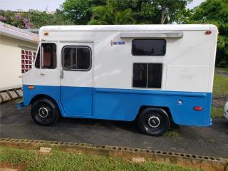 Guagua para venta de helado soft cream, Chevrolet Puerto Rico