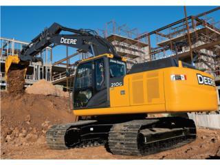 John Deere 210G - Gonzalez Trading, Equipo Construccion Puerto Rico