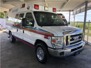 Ambulancia Tipo 2 Wheeled Coach Importada, Ford Puerto Rico