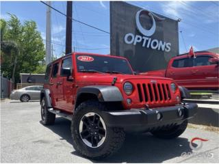 Jeep Wrangler Unlimited 2017, Jeep Puerto Rico