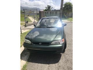 Toyota Corolla 2000, Toyota Puerto Rico