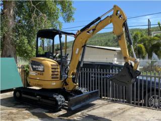 Excabadora mini CAT 302.7D, Equipo Construccion Puerto Rico