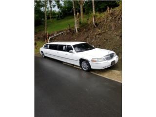 Limosina Lincoln Town Blanca $14500, Lincoln Puerto Rico