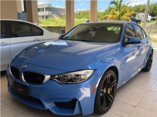 BMW M3 2017 Jas marina Blue, transmission standard, BMW Puerto Rico