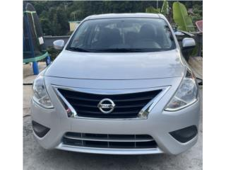 Nissan Versa SV 2015 como nuevo , Nissan Puerto Rico