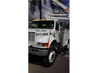Camion canasto  para electricista, International Puerto Rico