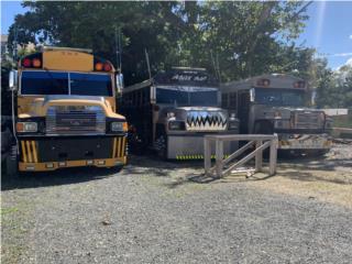 3 guaguas escolares Ford , Ford Puerto Rico