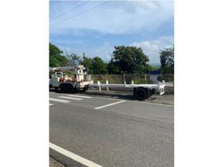 Carretón de Postes TEREX $11,500, Equipo Construccion Puerto Rico