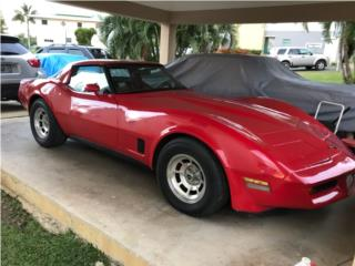 Corvette 1981, Chevrolet Puerto Rico