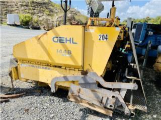 Paver Gehl 1448, solo 150 horas de uso, Equipo Construccion Puerto Rico