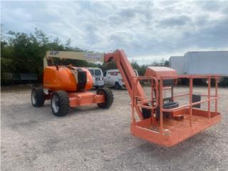 Boom Lift JLG 600 AJ 60 Pies Dual Fuel, Equipo Construccion Puerto Rico