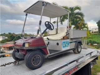 Club Car gasolina motor original , Carritos de Golf Puerto Rico