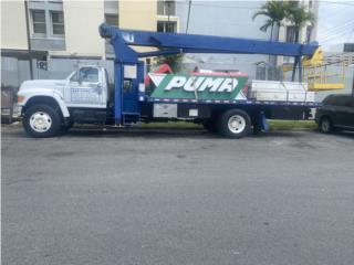 Grua Ford 8000 1999 de puntal Manitex 14 Tons, Ford Puerto Rico