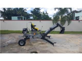 Mini Excavadora / Mini Backhoe / 2020 , Equipo Construccion Puerto Rico