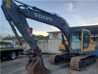 Volvo EC160 BL hydraulic excavator, Equipo Construccion Puerto Rico