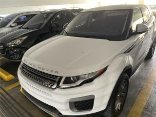 Range Rover Evoque 2016 $34,000, LandRover Puerto Rico