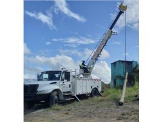 Camión barrena y canasto , International Puerto Rico