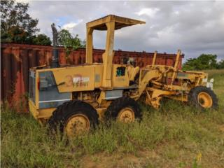 Pavimentadora Lee Boy & Grade Komatsu, Equipo Construccion Puerto Rico
