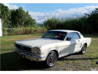 Ford Mustang del 1966 en excelente condición, Ford Puerto Rico
