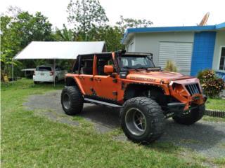 Wrangler jk unlimited mucho invertido, Jeep Puerto Rico