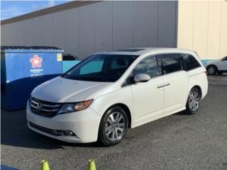 Odyssey Touring 2016 $22,000 solo 39,000 mls, Honda Puerto Rico