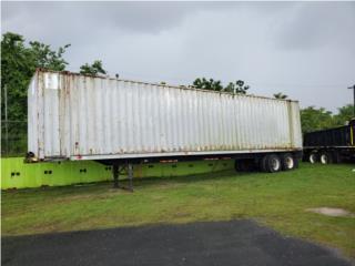Vagon 45' con chasis, Equipo Construccion Puerto Rico
