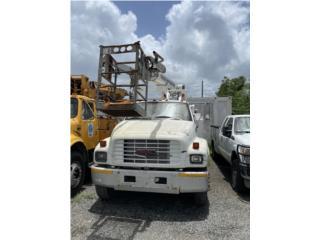 1997 GMC 5500 - T40 Truck con canasto, GMC Puerto Rico