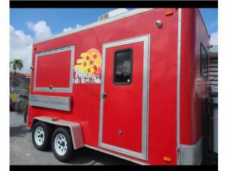Foodtruck trailer7x14 $16,000 tablilla-titulo, Trailers - Otros Puerto Rico
