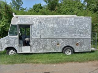 Food Truck 1984 aluminio, Ford Puerto Rico