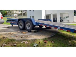 Plataforma 24' para equipo pesado, Equipo Construccion Puerto Rico